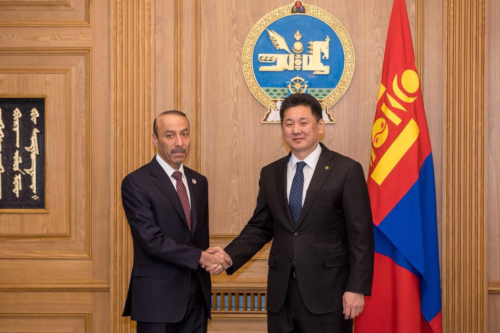 Prime Minister Sends Written Message to Mongolian PM