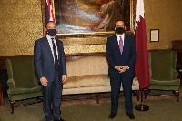 Deputy Prime Minister and Minister of Foreign Affairs Meets British Foreign Secretary