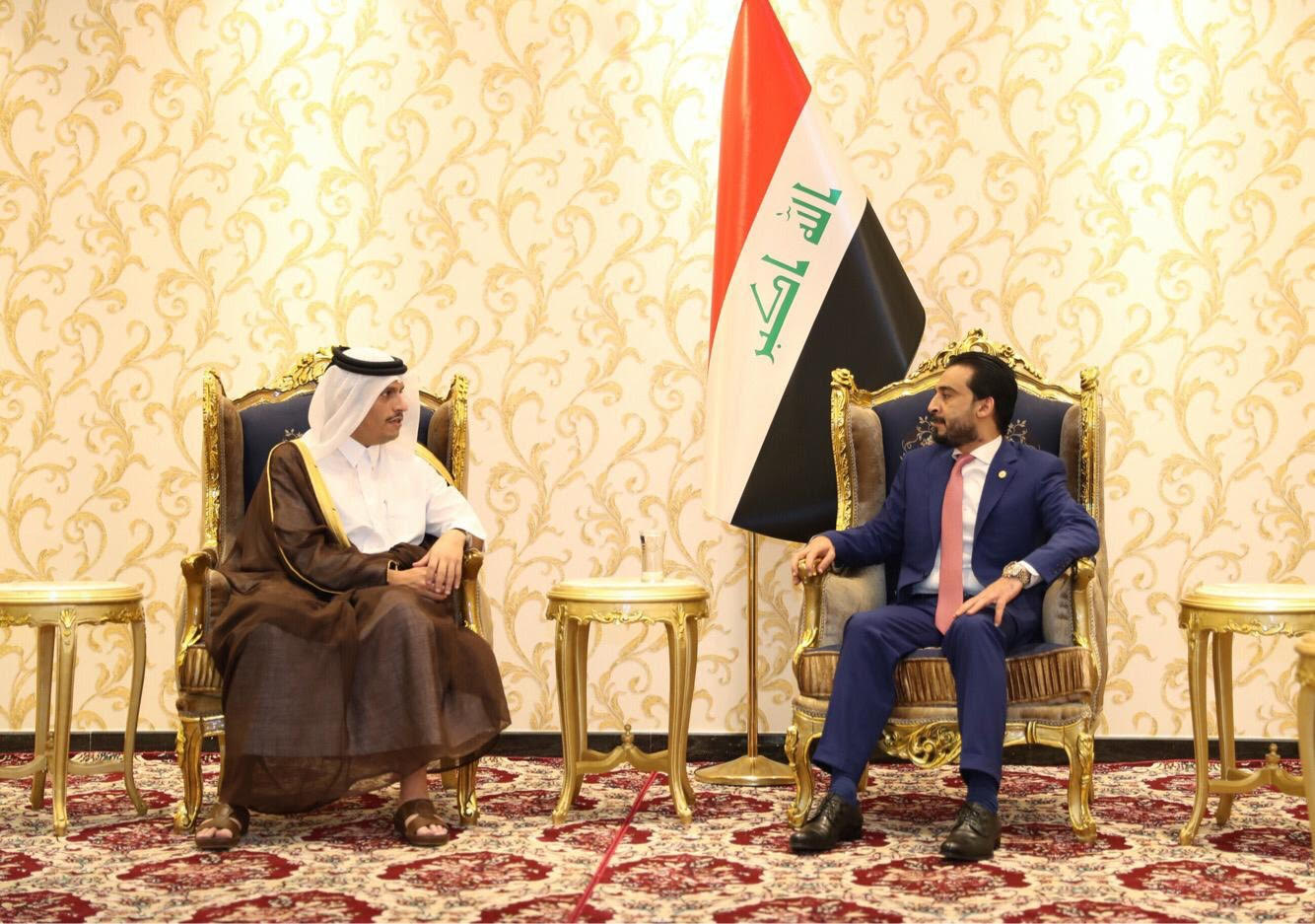 Deputy Prime Minister and Minister of Foreign Affairs Meets Iraqi Speaker