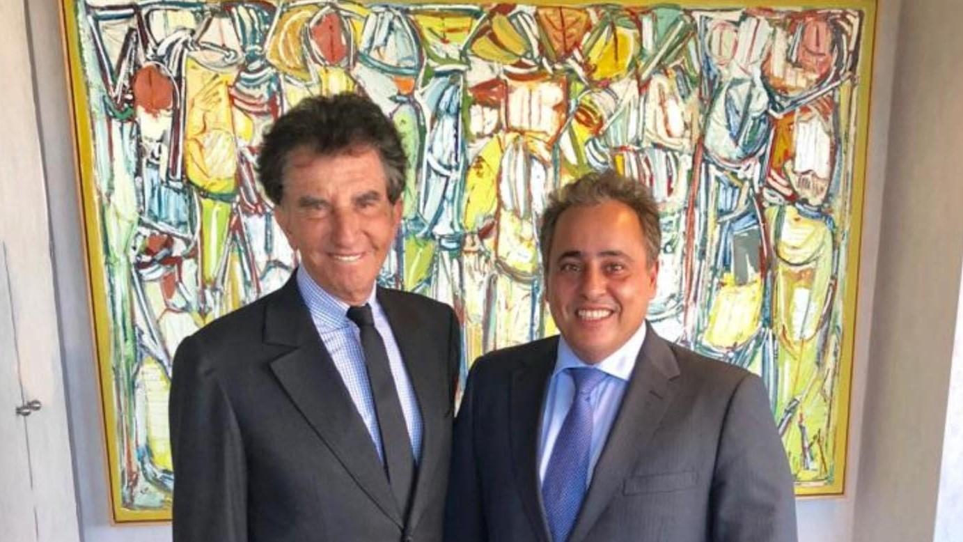 سفير قطر يلتقي رئيس معهد العالم العربي في باريس
