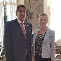 Secretary-General of Italian Foreign Ministry Meets Qatari Ambassador