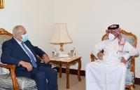 Minister of State for Foreign Affairs Meets Ambassadors of Palestine, Tunisia, UK