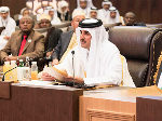 HH the Emir Addresses Arab Summit in Jordan