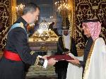 Spain King Receives Credentials Of Qatar's Ambassador