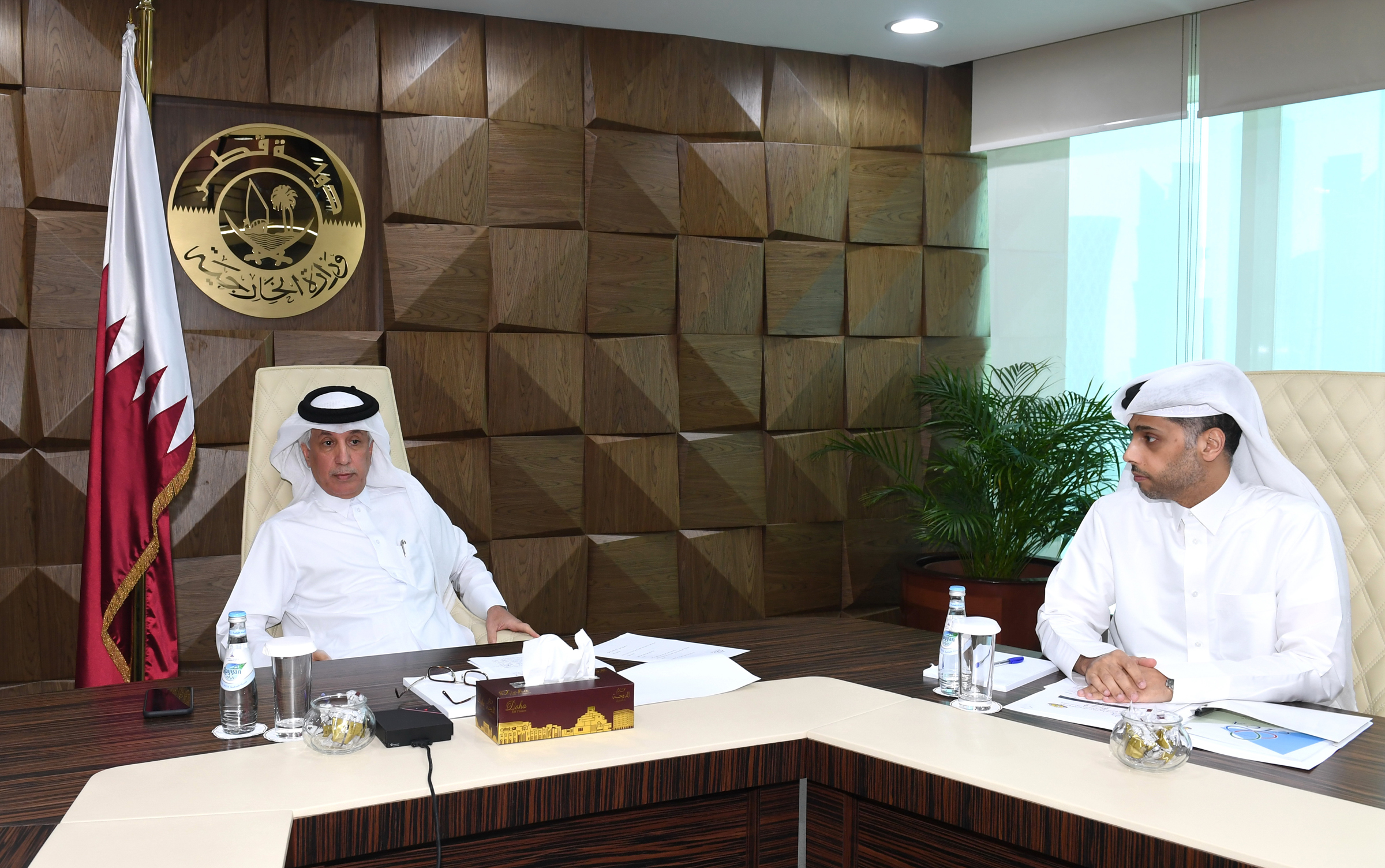 Qatar Reaffirms Great Interest in Work of Conference on Interaction and Confidence-Building Measures in Asia