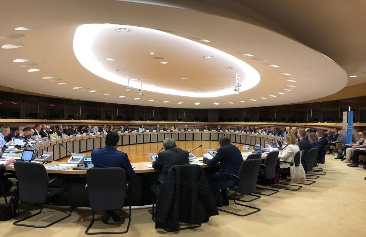 المبعوث الخاص لوزير الخارجية يشارك في الاجتماع السنوي التاسع لنقاط الاتصال الوطنية للمسؤولية عن حماية المدنيين