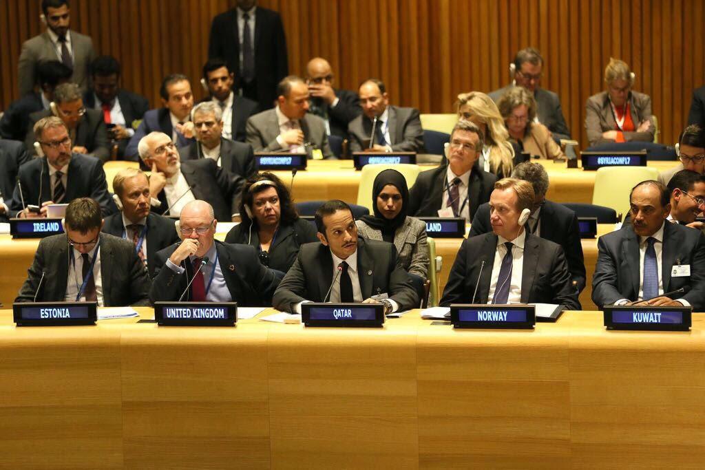 وزير الخارجية : دولة قطر لم تدخر جهداً في تقديم المساعدات الإنسانية للأشقاء السوريين