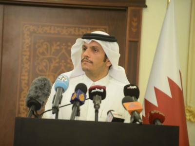 وزير الخارجية: قطر ستتصدى للحملة الإعلامية التي تستهدفها