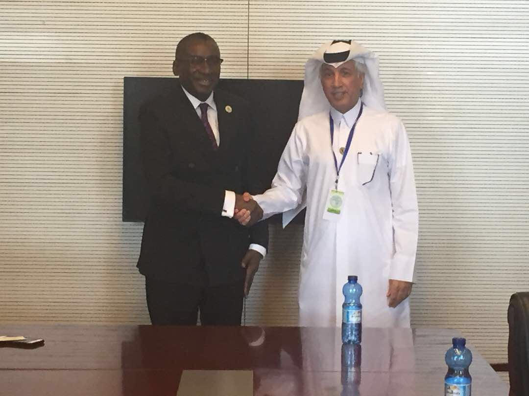 State Minister for Foreign Affairs Meets Senegal's FM, Cote d'Ivoire's African Integration Minister