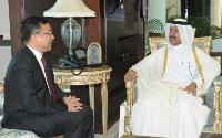 Secretary General of Ministry of Foreign Affairs Receives Copies of Credentials of Ambassadors