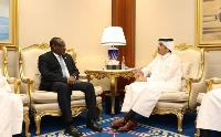Deputy Prime Minister and Minister of Foreign Affairs Meets Number of Ministers Participating in Doha Forum