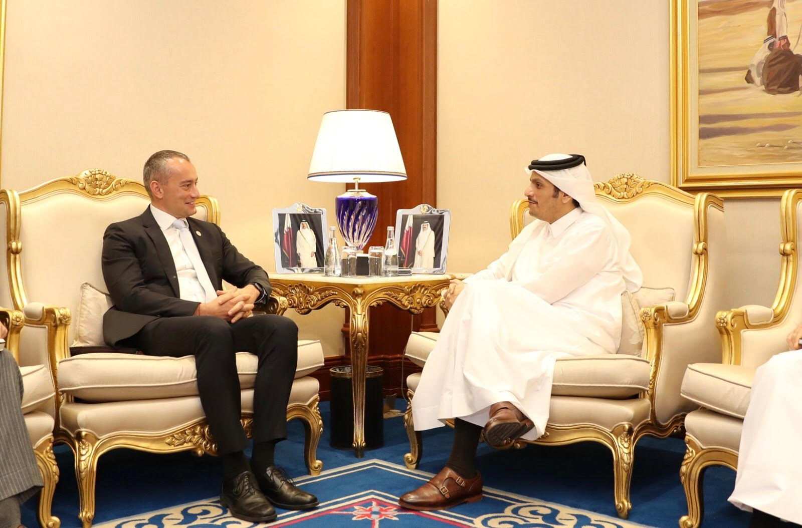 Deputy Prime Minister and Minister of Foreign Affairs Meets UN Officials