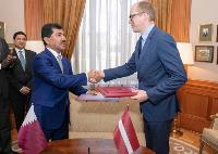 Qatar, Latvia Foreign Ministries Sign MoU to Hold Political Consultations