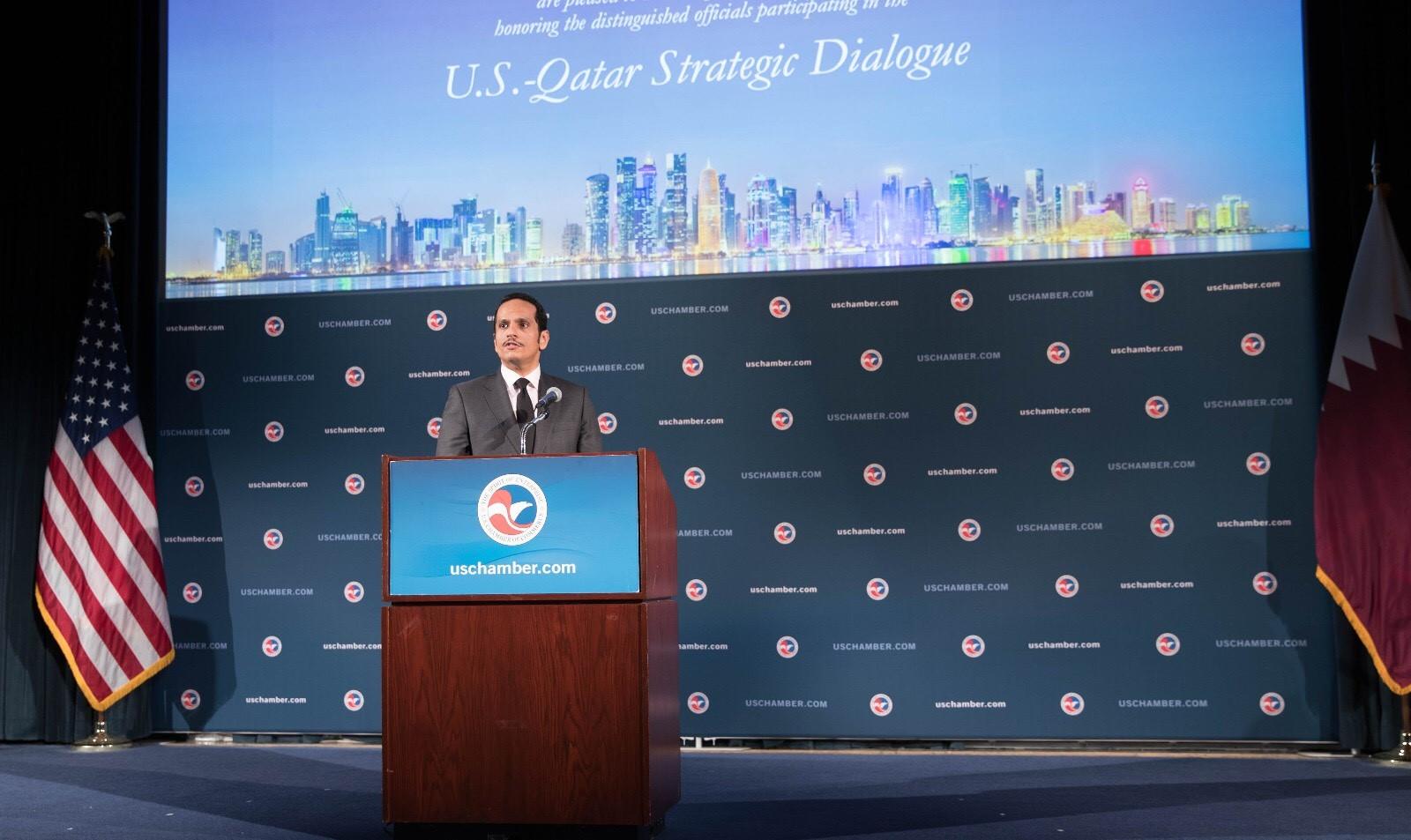 نائب رئيس مجلس الوزراء وزير الخارجية: الحوار الاستراتيجي يعكس عمق العلاقات بين قطر والولايات المتحدة