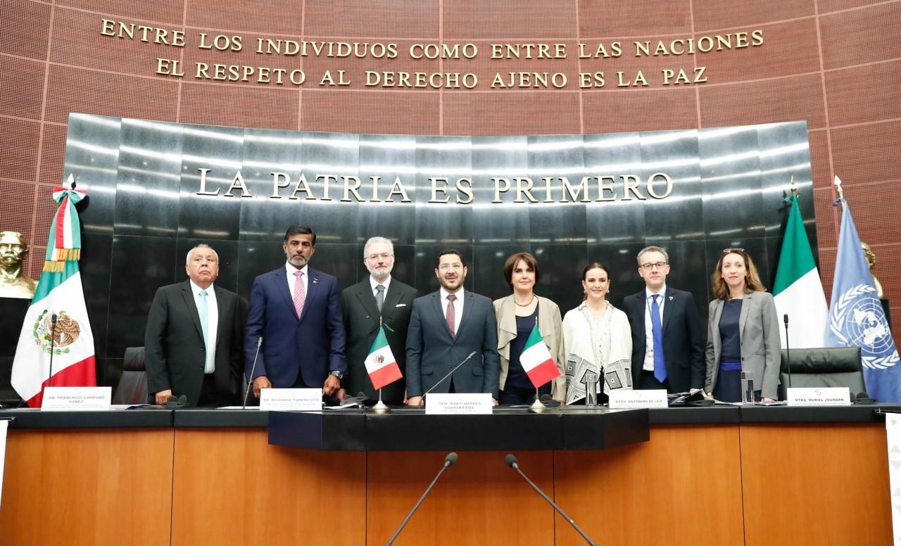 سفير قطر يشارك بجلسة في مجلس الشيوخ المكسيكي