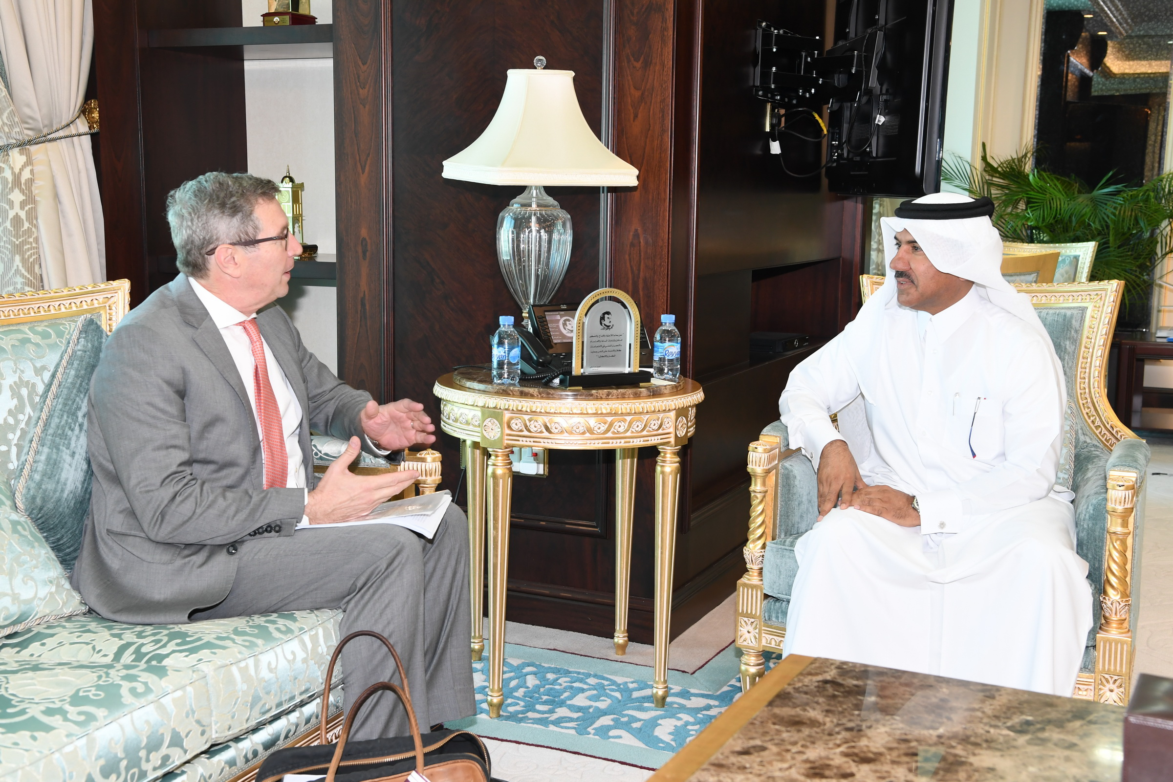 Foreign Ministry Secretary-General Meets UN Official