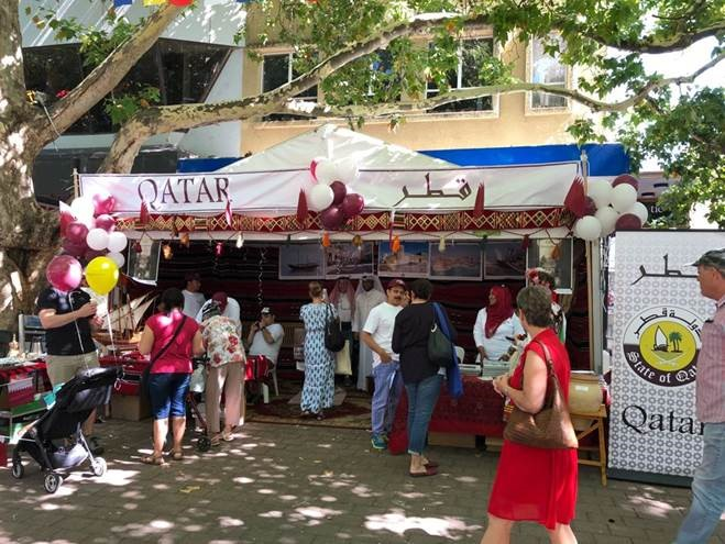 سفارة قطر تشارك بمهرجان التعددية الثقافية في أستراليا
