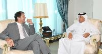 Minister of State for Foreign Affairs Meets Canadian Ambassador