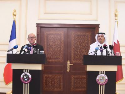 قطر وفرنسا تؤكدان على العمل المشترك لمكافحة الإرهاب وتمويله
