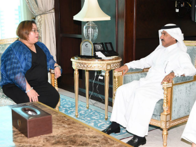 الأمين العام لوزارة الخارجية يجتمع مع وكيلة وزارة الشؤون الخارجية الفلبينية