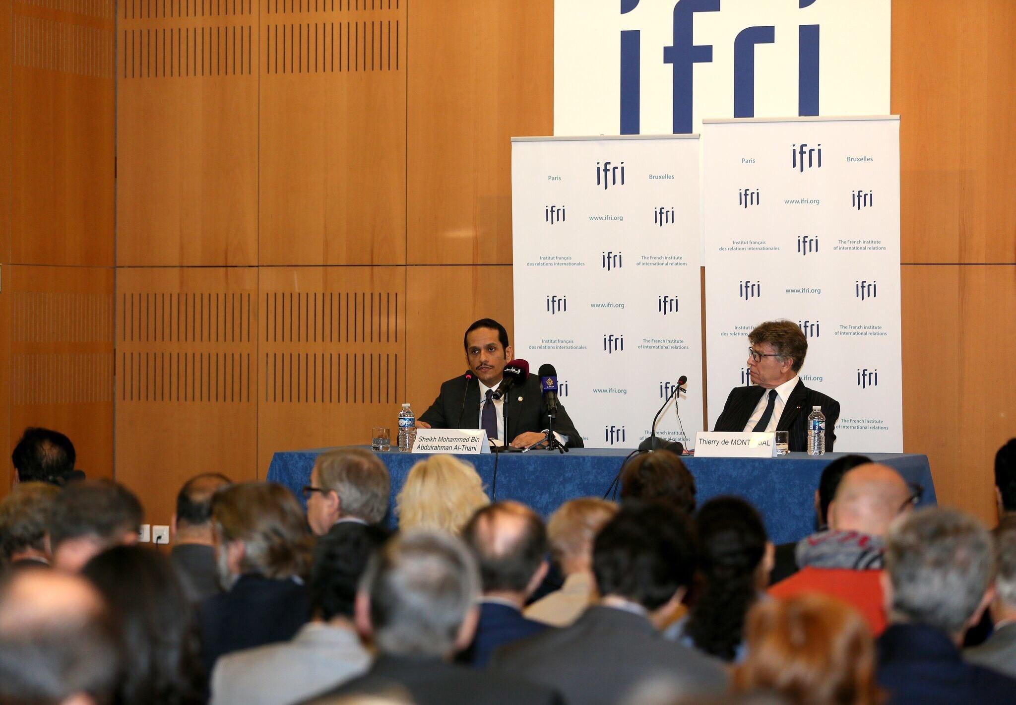 وزير الخارجية: الحصار أتاح فرصة للمواطنين القطريين لإبراز المبادئ والقيم التي يؤمنون بها والمتمثلة في التسامح والعدل