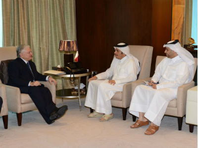 وزير الخارجية يجتمع مع نظيره الأرميني