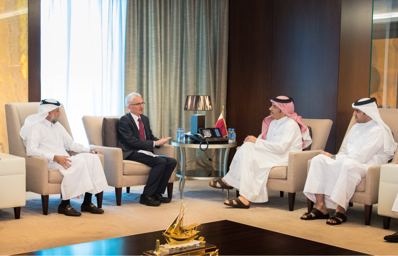 Deputy Prime Minister and Foreign Minister Meets UN Officials