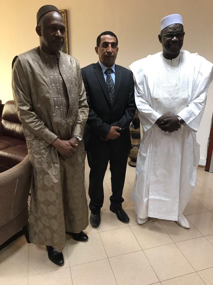 سفير دولة قطر يشارك في منتدى الاستثمار في مالي