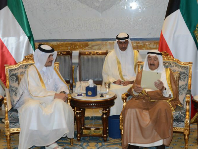 Emir of Kuwait Meets Foreign Minister