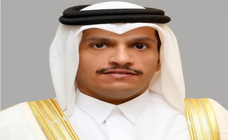 سعادة وزير الخارجية يلتقي عزام الأحمد