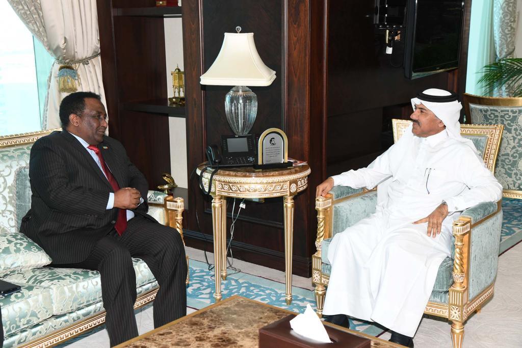الأمين العام لوزارة الخارجية يجتمع مع السفير الأثيوبي