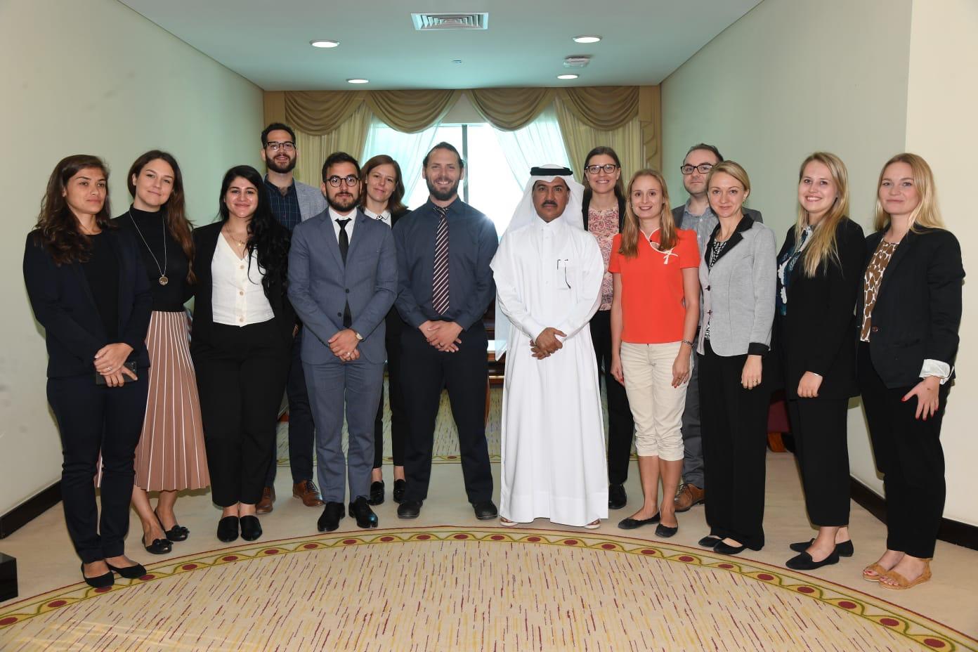 وفد زمالة الأمم المتحدة لتحالف الحضارات يختتم زيارة ناجحة إلى دولة قطر