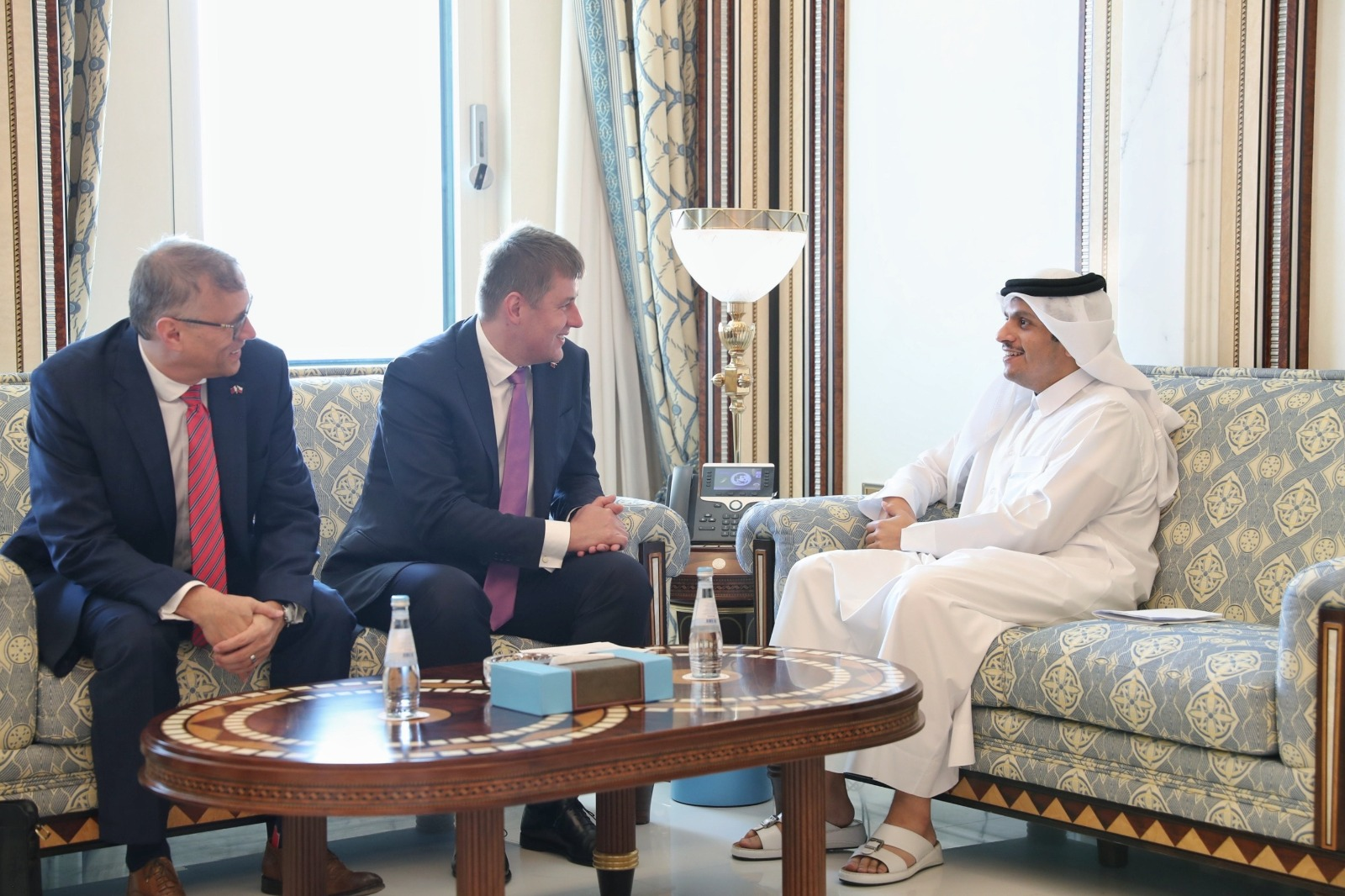 Deputy Prime Minister and Minister of Foreign Affairs Meets Czech Minister of Foreign Affairs