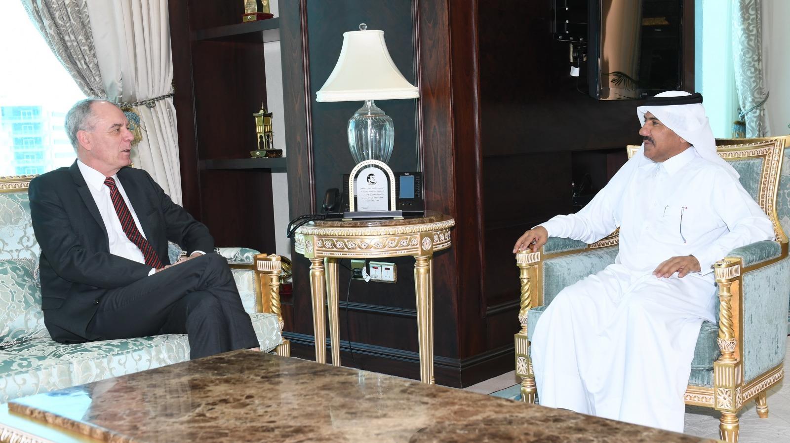 الأمين العام لوزارة الخارجية يجتمع مع السفير الألماني