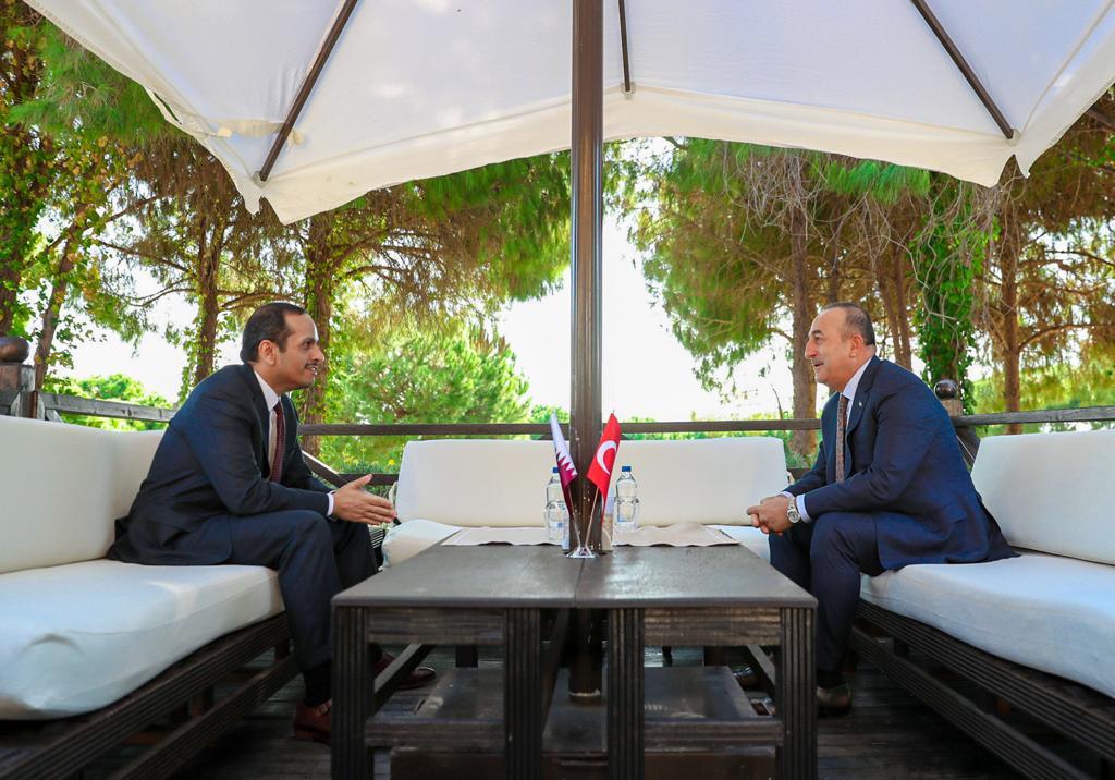 افتتاح أعمال الاجتماع الوزاري للجنة الاستراتيجية العليا القطرية - التركية في أنطاليا