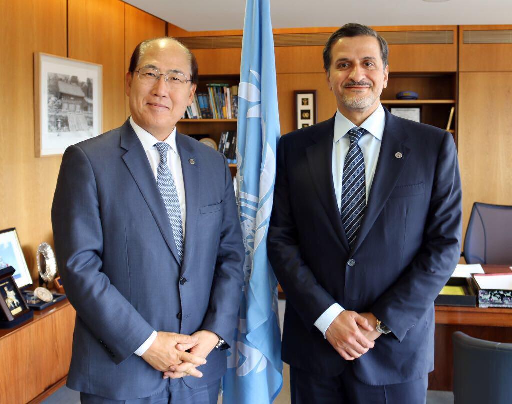 الأمين العام للمنظمة البحرية الدولية يجتمع مع سفير قطر