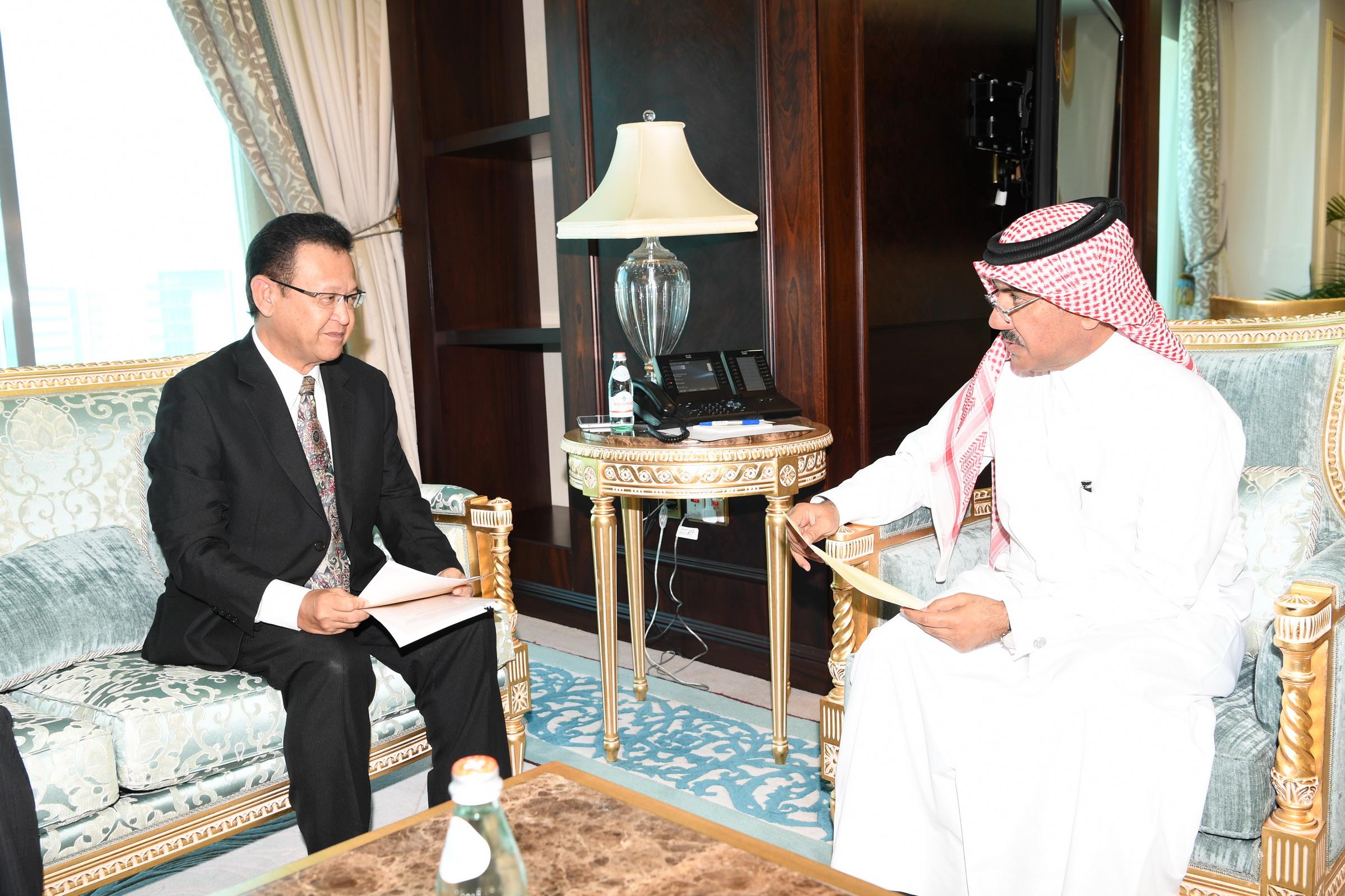 وزير الخارجية يتلقى دعوة لحضور الاجتماع الوزاري لمنظمة التعاون الاسلامي