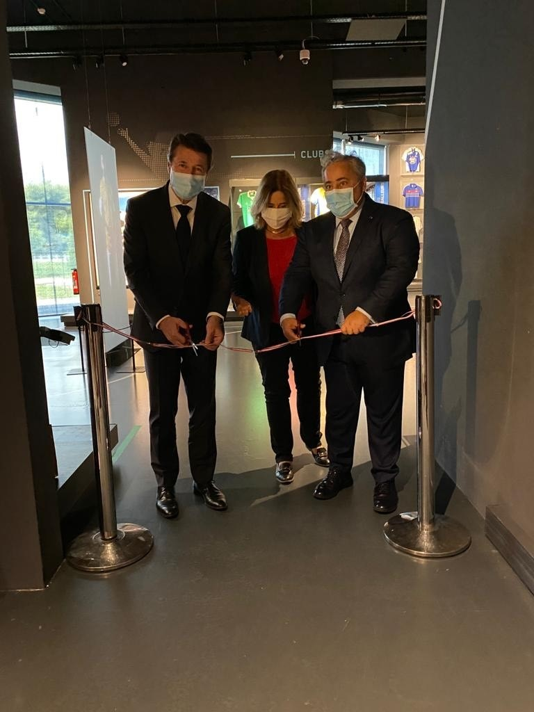 Qatar's Ambassador in France Opens Exhibition on 2022 World Cup in Nice