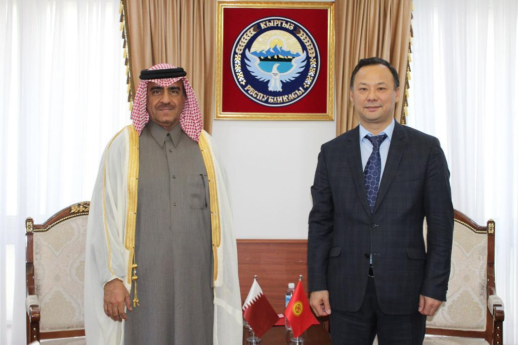Deputy Prime Minister and Minister of Foreign Affairs Sends Message to Minister of Foreign Affairs of Kyrgyz Republic