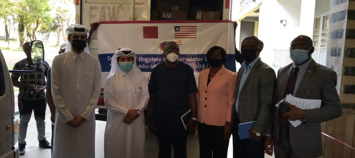The State of Qatar's Embassy Delivers Medical Assistance to Liberia