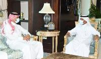 Secretary General of Ministry of Foreign Affairs Meets Saudi Charge d'Affairs