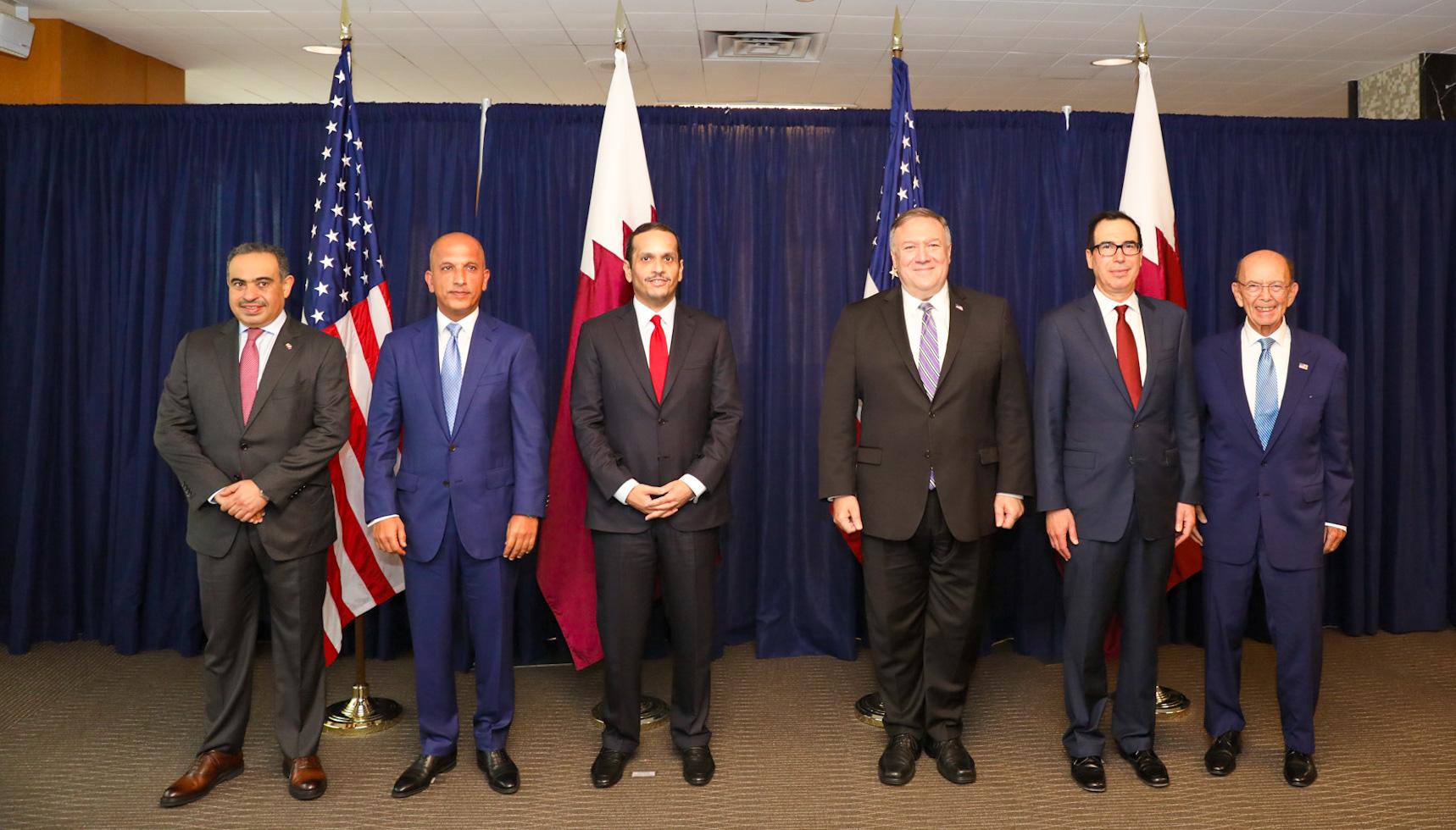 نائب رئيس مجلس الوزراء وزير الخارجية: انعقاد الدورة الثالثة من الحوار الاستراتيجي القطري ـ الأمريكي يعكس العلاقات المزدهرة بين بلدينا