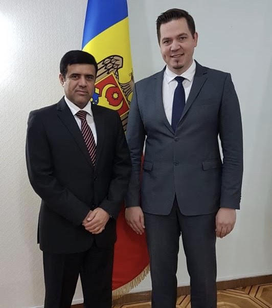 وزير الخارجية في مولدوفا يجتمع مع القائم بالأعمال القطري