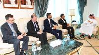 Minister of State for Foreign Affairs Meets Ambassadors of UK, Italy, France and US Charge d'Affaires