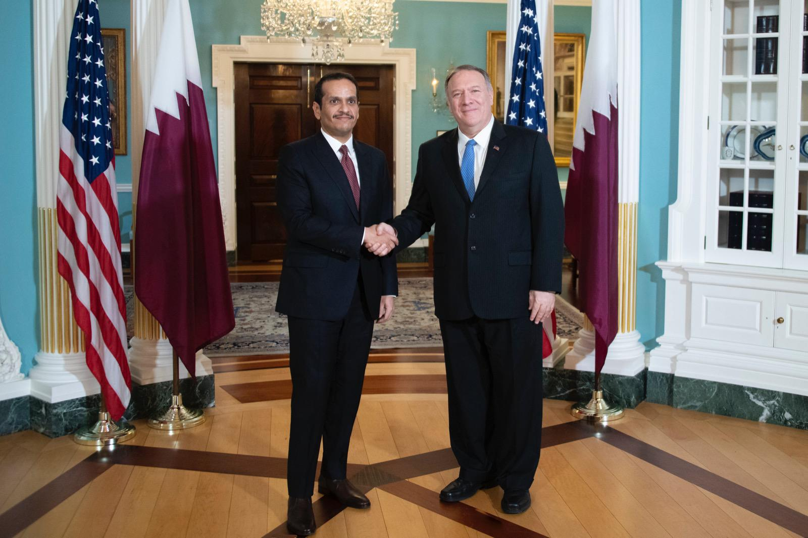 Deputy Prime Minister and Minister of Foreign Affairs Meets US Secretary of State