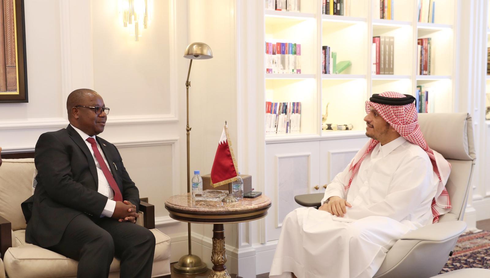 Deputy Prime Minister and Minister of Foreign Affairs Meets Burundi's Minister of Foreign Affairs