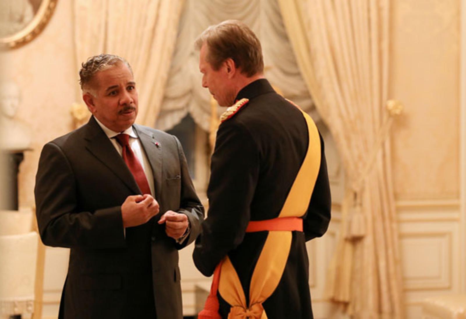 دوق لكسمبورج الأكبر يستقبل سفير قطر
