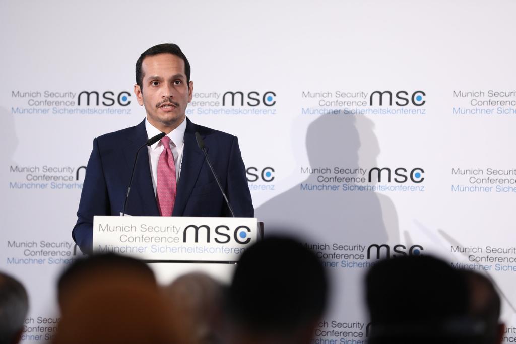 نائب رئيس مجلس الوزراء وزير الخارجية يؤكد أهمية دعوة سمو الأمير لإبرام اتفاقية أمنية إقليمية ملزِمة بالشرق الأوسط