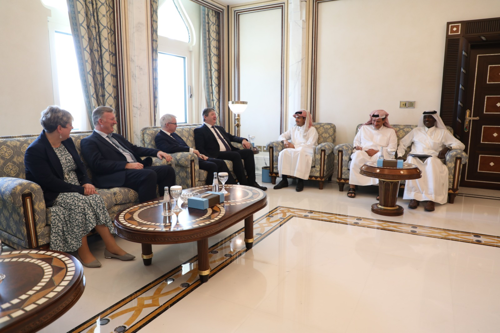 Deputy Prime Minister and Minister of Foreign Affairs Meets Delegations of British Parliament, US Congress