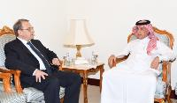 Minister of State for Foreign Affairs Meets Special Representative of Russian President for Middle East and Africa